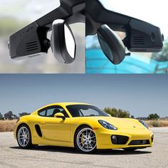 For Porsche Cayman Driving Recorder Car Dvr Mini Wifi Camera Video Full HD 1080P Car Dash Cam Original Style Black Box