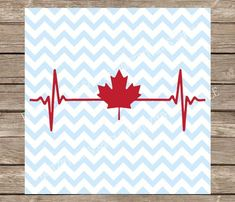 Canada svg, Heartbeat svg, Maple Leaf svg, svg, svg files, svg designs, svg files for cricut, svg silhouette, Canadian svg, silhouette cameo Canadian Flag Tattoo, Maple Leaf Tattoos, Canada Day Crafts, Canada Maple Leaf, Canadian Things, Cricut Craft Room, Christmas Templates, In A Heartbeat, Svg File