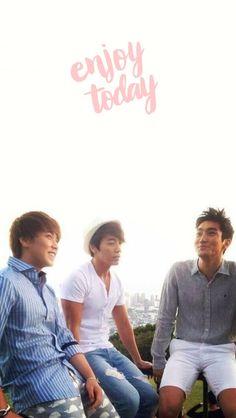 Follow @SuJuPacks on Twitter! #SuperJunior #Super #Junior #Wallpaper #Lockscreen #Sungmin #Donghae #Siwon