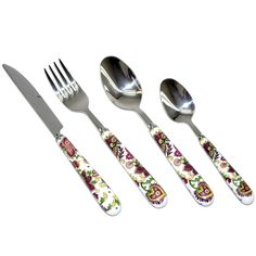 Serve dinner in style with this attractive flatware set with service for six. This service set features stainless steel construction for elegance and durability.