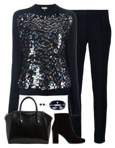 Untitled 351 (Fall/Winter) by maddkat on Polyvore featuring polyvore fashion style Emilio Pucci Yigal Azrouël Yves Saint Laurent Givenchy Mark Davis clothing