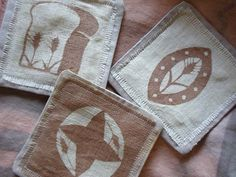simple cut out Printing On Fabric, Simple, Tableware, Prints, Dinnerware, Fabric Printing, Dishes, Printmaking