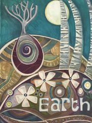"""Element Earth: """"#Earth,"""" by Jaine Rose."""