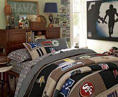 teen boy bedrooms sports - Bing Images