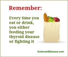 People with Hashimoto's disease shouldn't rely on thyroid medication alone. Most triggers of thyroid autoimmunity are dietary and without addressing your diet and lifestyle modifications that aim to reduce toxicity in your life thyroid drugs have only limited effect. Here is #1 food to ADD to your thyroid diet http://outsmartdisease.com/bone-broth-recipes-for-autoimmune-thyroid-diet/