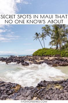 Wondering what the best hidden gems on Maui are? We reveal our 6 favorite secret spots on Maui and include a map to help you get to them! Hawaii Travel Guide, Maui Travel, Usa Travel Guide, Travel Usa, Travel Guides, Travel Destinations, Travel Tips, Time Travel, Disney Travel