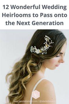 Heirloom Bridal hair accessories