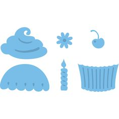 Marianne Designs Creatables Die Cupcakes