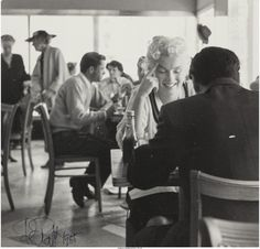 Marilyn in New York, 1955. Photo by Roy Schatt.