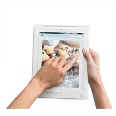 Protect your device from messy, slippery and sticky situations with the Chef Sleeve for iPad, available at the Food Network Store.