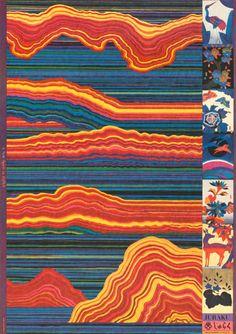 """ Kiyoshi Awazu, poster artwork for A new spirit in Japan, Juraku.- "" Kiyoshi Awazu, poster artwork for A new spirit in Japan, Juraku. Illustration Design Graphique, Illustration Art, Design Illustrations, Design Museum, Japanese Graphic Design, Japanese Art, Vintage Japanese, Psychedelic Art, Graphic Design Posters"