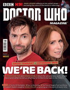 OUT NOW: David Tennant & Catherine Tate Are The Cover Stars Of Doctor Who Magazine #498