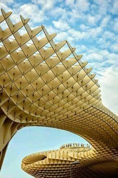 Metropol parasol - La Encarnactión square, Sevilla