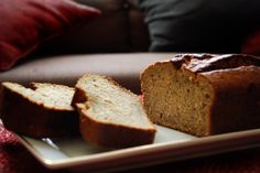 Pistachio zucchini bread- not the correct photo. Try recipe with half oil and half applesauce,  cut sugar down. Make it in a bundt pan.
