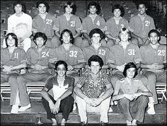 The Punahou School's 1979 state basketball championship team featured President Obama, back row, last player on right. Dan Hale is in the second row, second  from right, wearing No. 31. Hale also coached Punahou to a state championship in 2008.