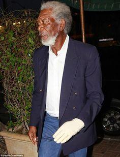 Juventul al Dia: A seis años de su accidente, Morgan Freeman sigue ...