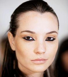 Makeup artist Lauren Andersen shares all. via @byrdiebeauty (Shop www.youravon.com/ericagerlemann to get the Avon makeup at S/S 2015 Nicholas K #NYFW show!)