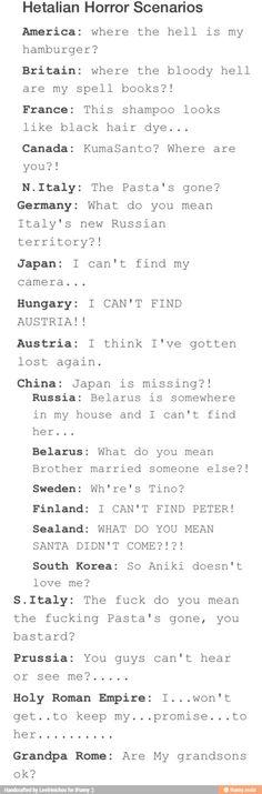 At first it was funny, but near the end I just..... :( Oh Prussia..... WAAAAAAAAAAAAAAAAA (T_T)