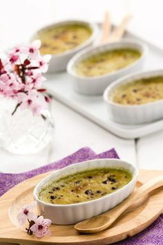 What do you get when you cross the best French tradition with Japanese ingredients? GREEN TEA CREME BRULEE of course.  This easy Japanese take on an iconic dish with cream, milk, egg yolks, sugar is enhanced with matcha and is just delicious.
