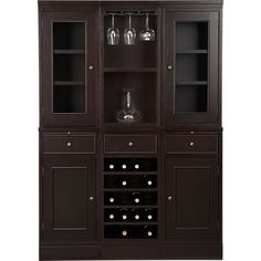 McAllister Large Buffet with Hutch in Buffets, Sideboards | Crate and Barrel