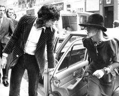 """좋아요 7,906개, 댓글 14개 - Instagram의 FRENCH TOASTS ☾(@french__toasts)님: """"Anita Pallenberg With Keith Richards in London, April 30, 1976"""""""