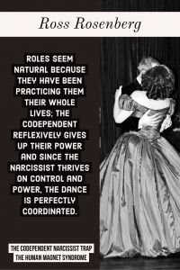 The dance between codependency and narcissists and sexual dysfunction