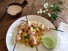 Chili og vanilje: Hurtig kylling satay