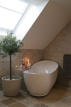 You searched for label/Bad - Villa Von Krogh Attic Bathroom, Bathroom Spa, Bathroom Renos, Master Bathroom, Dream Bathrooms, Beautiful Bathrooms, Bedroom With Bath, 5 W, Bathroom Inspiration