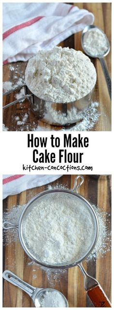 How to make homemade cake flour CakeWhiz Recipes to try
