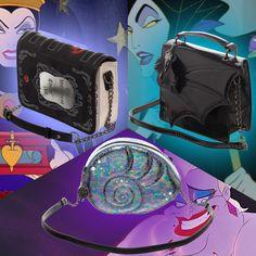 Premium Disney Villain Handbags From Merchoid Now Available Downtown Disney, Disney Villains, Disney Style, Disney Fashion, Disney Merchandise, Fan, Handbags, Outfits, Totes