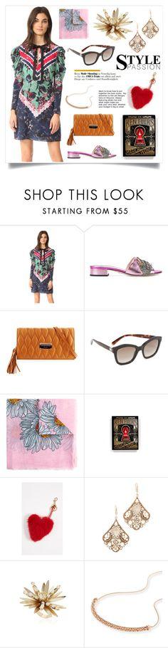 """Alena Short Dress..**"" by yagna on Polyvore featuring Gucci, Salvatore Ferragamo, Ingram Publishing, Anya Hindmarch, Theia, Rosantica and Kendra Scott"