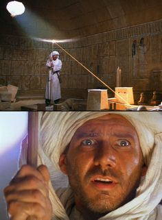 "The premise, the music, the setting, everything about it. Always one of my absolute favorite movie scenes since I was a kid. ~ DR | The Map Room ~ ""Indiana Jones and the Raiders Of The Lost Ark"""