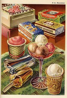 Soviet ice cream.