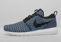 #Nike Flyknit Roshe Run NM - Turquoise #sneakers
