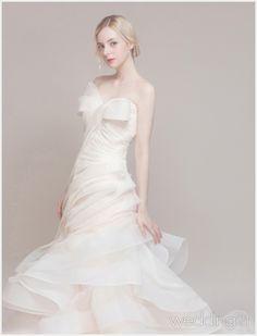 유려하고 우아한 웨딩드레스의 향연, 제이미브라이드