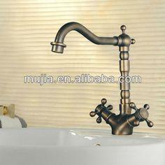 kitchen faucet Ceramic valve core Pure copper faucet tap kitchen mixer antique old fashioned bathroom faucets