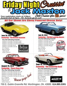 Car Show Chevrolet Dealer Worthington And Columbus Jack Maxton