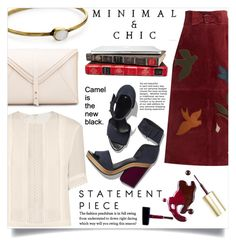"""Simple Outfit #179"" by rizkafathi ❤ liked on Polyvore featuring Giambattista Valli, RED Valentino, LowLuv, Pierre Hardy and polyvoreeditorial"