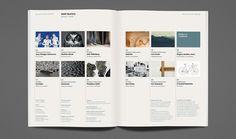 MADE Quarterly, Edition Three Features. Three column grid.