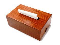 Premium Rosewood Tissue Paper box, Tissue holder, Kleenex Holder, Napkin Paper Box, Wooden Box Storage
