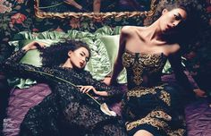 Style Pantry | Femme Fatale Editorial In Vogue China