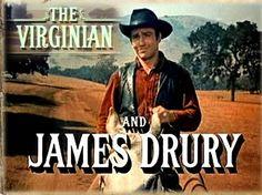 james drury | James Drury ou le Virginien • Western Movies - Saloon Forum •                     The Virginian