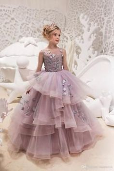 Items similar to Gray and Pink Flower Girl Dress - Birthday Wedding Party Holiday Bridesmaid Flower Girl Gray and PinkTulle Lace Dress on Etsy Pink Flower Girl Dresses, Little Girl Dresses, Girls Dresses, Flower Girls, Lace Wedding Dress, Wedding Dresses, Wedding Flowers, Wedding Skirt, Tulle Flowers