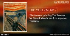"""Fact about famous painting"""" The Scream"""" #fact #famous #painting #edvard #munch"""