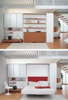 IQ System B Design Depot Furniture Miami Showroom Murphy bed
