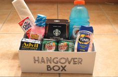 Bachelorette party? Girls trip? Birthday party? This DIY Hangover Kit is the perfect gift! PIN NOW, THANK LATER!