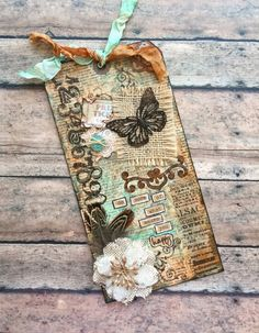 Vintage-style Mixed Media Tag                                                                                                                                                                                 More
