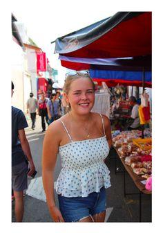 Mia Emilie Persson - Crochet Top, Women, Fashion, Women's, La Mode, Fashion Illustrations, Fashion Models