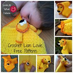 Tau Free Pattern 3 Tau the Crochet Lion Lovie {Free Pattern}