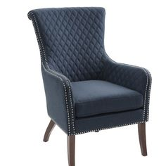 Alcott Hill Busti Wingback Chair & Reviews | Wayfair
